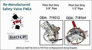 Wolf Oven  Range Parts