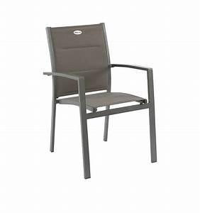 Mobilier De Jardin Hesperide : fauteuil hesp ride azua chocolat mastic le d p t bailleul ~ Dailycaller-alerts.com Idées de Décoration
