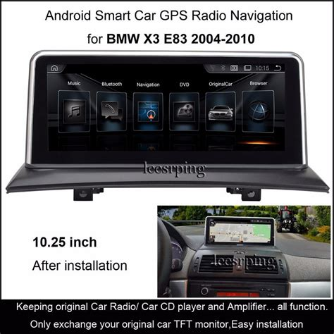 automotive repair manual 2010 bmw x3 head up display 10 25 quot touch android car radio stereo for bmw x3 e83 2004 2010 intelligence car multimedia