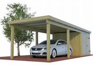 Aluminium Carport Mit Abstellraum : carport bausatz aus holz vom hersteller angebot carports ~ Markanthonyermac.com Haus und Dekorationen
