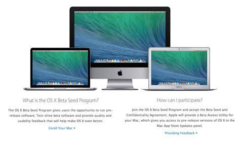 Programm Mac by Le Programme De B 234 Ta Os X Est Ouvert 224 Tous Appleigeek