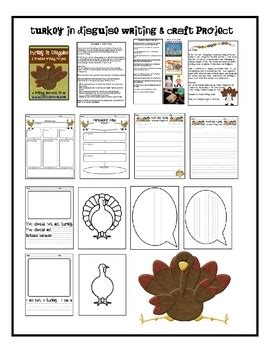 turkey in disguise bulletin board template 65 best art and writing projects images on pinterest