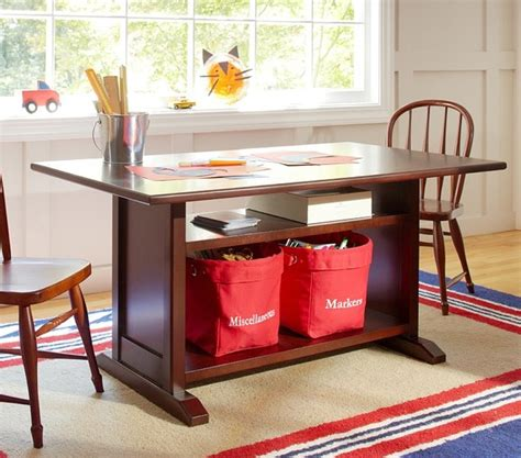 Childrens Desk With Storage by Hayden Storage Play Table Traditional Tables And