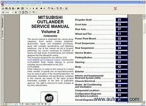 Mitsubishi Outlander 2005  Repair Manuals Download  Wiring