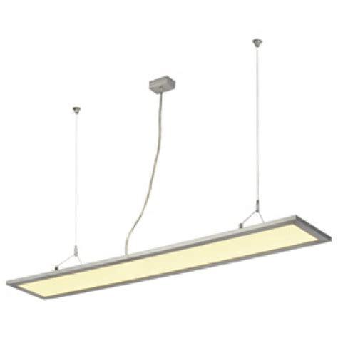 led drop ceiling lights slv 158532 led panel long pd 116 53w 3000k anodized