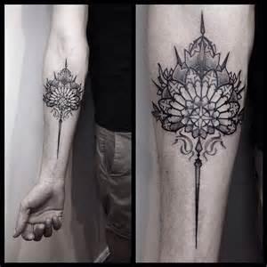 Elongated Mandala Tattoos