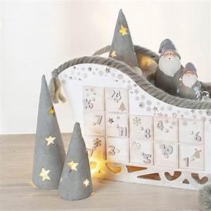 Weihnachtsbäume Aus Papier Basteln : bastelanleitung weihnachtsb ume aus knetbeton buttinette bastelshop ~ Orissabook.com Haus und Dekorationen