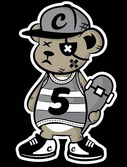 Graffiti Bear Behance Skater Cartoon Characters Jason
