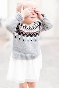 Toddler Girl Sweater Dress | fleurdille