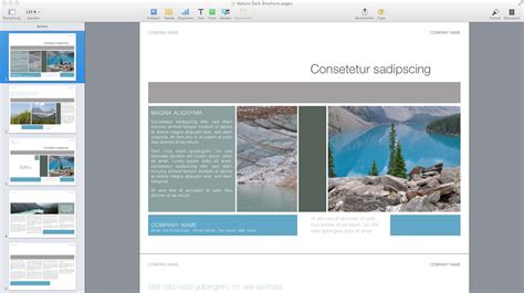 templates for pages for mac made for use