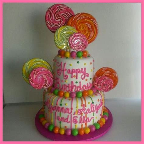 neon candy birthday cake for the love of cake