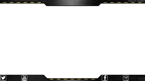 transparent template free twitch overlay grunge industrial theme crowboat