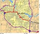 Zip Code Map Ann Arbor | World Map