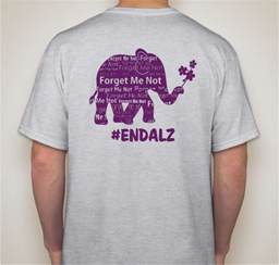 Walk to End Alzheimer's T-Shirts