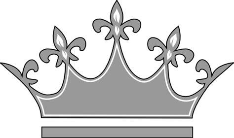 grey princess crown clip art  clkercom vector clip