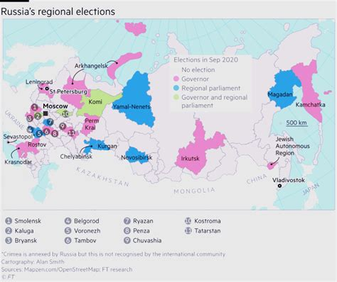 Elections in Russia's regions will be test of Putin machine