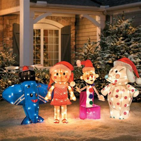 detalles acerca de misfit toys rudolph santa yard decor light tinsel lawn
