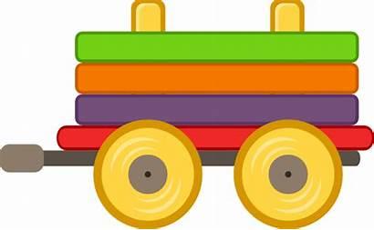 Train Cartoon Clipart Carriage Trains Clip Loco