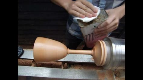 woodturning projects turning  wooden goblet youtube