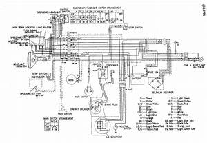 Wiring Diagram Of Honda Sl 100 Motorcycle  U2013 Auto