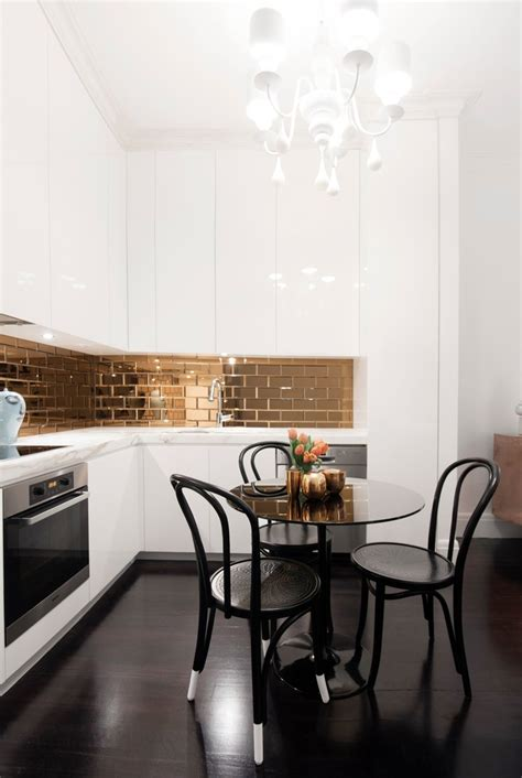 Unlacquered Brass Faucet Bathroom by Slate Ceramic Tile Dezinde