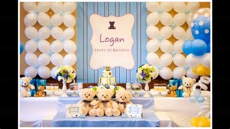 1st birthday party ideas boy happy idea on 1st birthday party themes decorations at home for boys