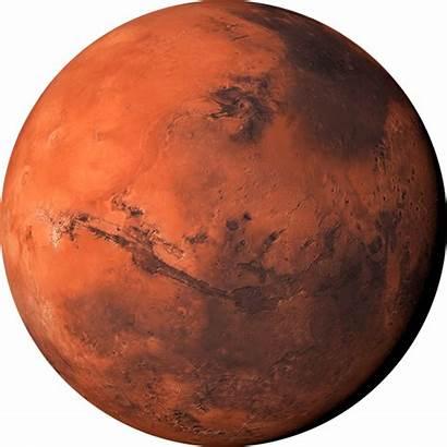 Mars Planet Solar System Transparent Sun Planets