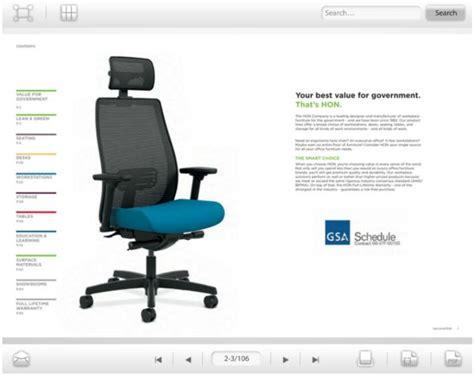 gsa catalog hon office furniture