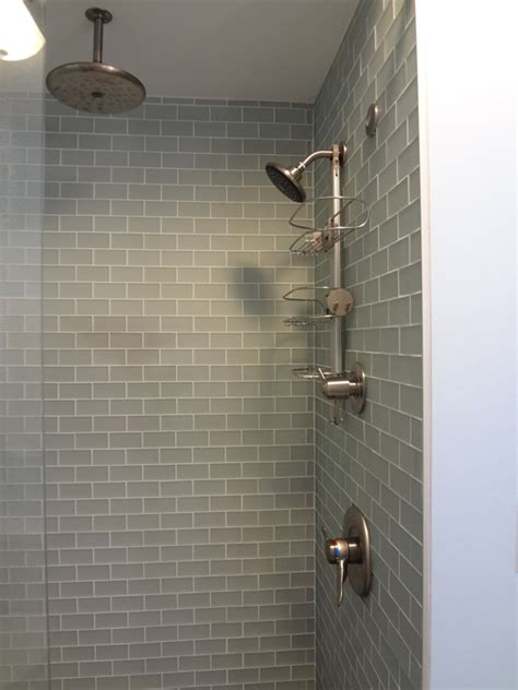 Putting In A Shower Pan by Anyone Use Schluter Membrane And Heating System For