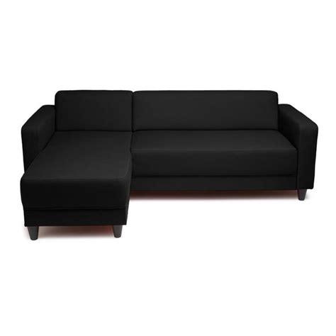 canape d angle noir pas cher photos canapé d 39 angle convertible noir pas cher
