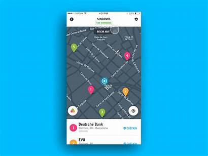 Interaction Ui Map App Dribbble Dashboard Maps