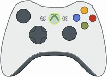Xbox Controller Transparent Clipart Icon Cartoon 360