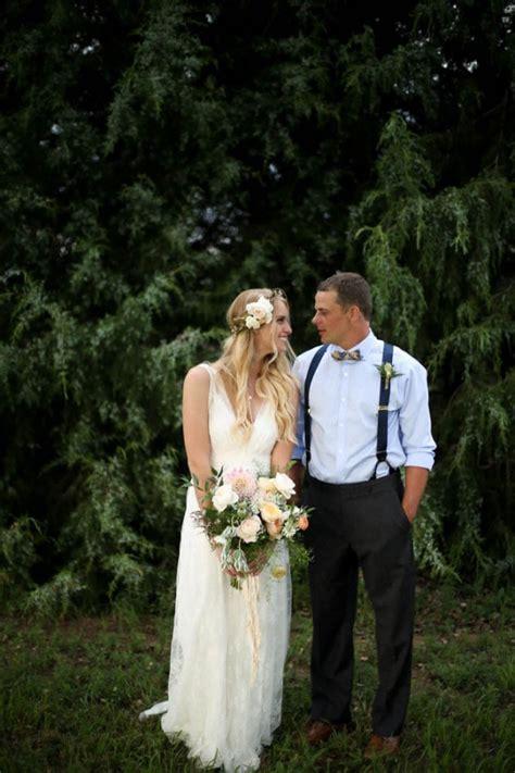 Bohemian Backyard Wedding by Bohemian Backyard Wedding In Colorado Junebug Weddings