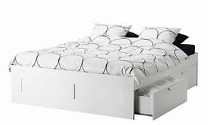 Lit Ikea Avec Tiroir : lit 2 places avec rangement ikea ~ Mglfilm.com Idées de Décoration