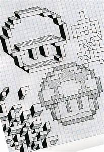 16 Best Photos Of Cool Graph Paper Designs