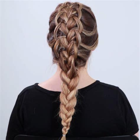 Looped French Braid Diy Clothes Hair Braids Hair Videos