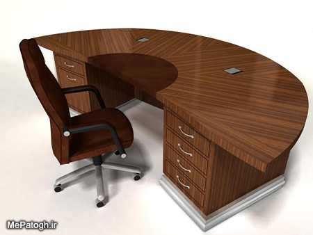 solid wood computer desk l shaped عکس های مدل میز تحریر اداری ام دی اف mdf شیک و جدید 96 و 2017