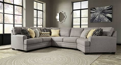latest cuddler sectional sofa