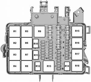 1998 Mercury Mystique Fuse Box Diagram