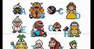 super mario alphabet related keywords super mario With super mario letters