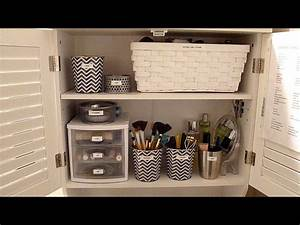 Budget Makeup Organization: How to organize your bathroom ...