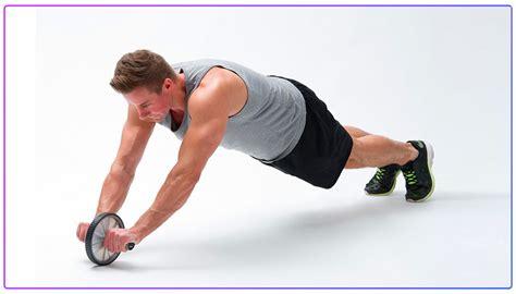 Body Core Training Bauch Trainer Fitness AB Wheel Roller Trainingsgerät