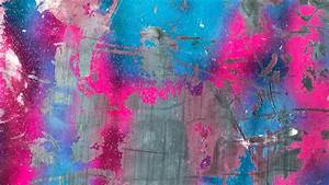 Download, Wallpaper, 2560x1440, Paint, Colorful, Scratched