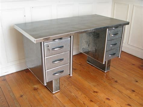 bureau metal roneo style and steel jpg tables