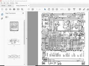 Corvette Wiring Schematic Diagrams Manual 1953-1982
