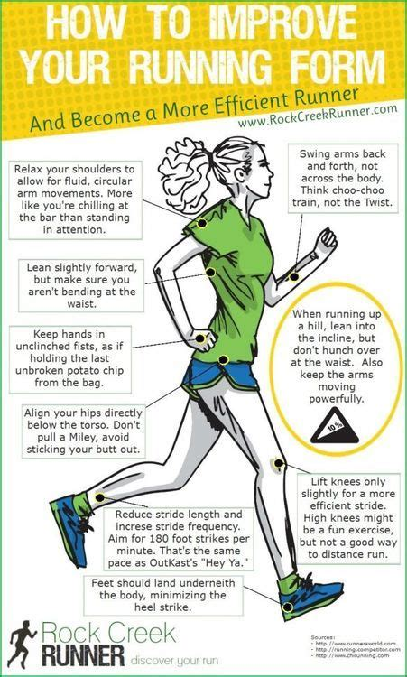 How To Improve Your Running Form To Become A More Efficient Runner  How To Instructions