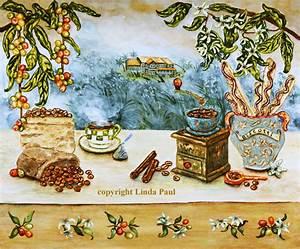 Coffee Decor Prints - Coffee Art Kitchen Wall Art