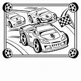 Coloring Race Lego Racing Printable Getcolorings sketch template