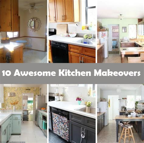 kitchen makeovers on a low budget 10 awesome kitchen makeovers i diy 9496