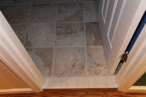 tile to carpet transition tack half bathroom reconstruction geeky engineer